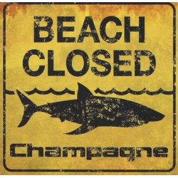 "Champagne ·""Beach Closed"" (CD)"