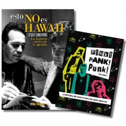 "PACK LA MOVIDA: ""Esto no es Hawaii. La historia oculta de La Movida"" y ""Pink! Pank! Punk! Vol. 1""(3CDs + libreto caja libro)"