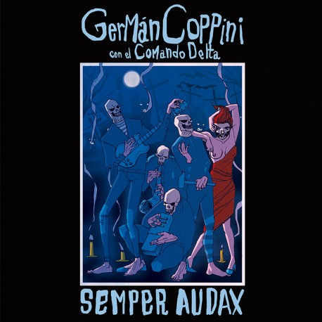 "Germán Coppini·""Sempre Audax"" (LP Vinilo 12' + Libro + CD)"