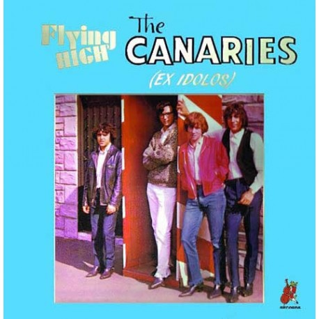 "The Canaries·""Flying  high"" (vinilo)"