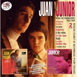 "Juan y Junior . ""Todas sus grabaciones (1963-1969)"" (2 CDs)"