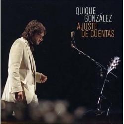 """Quique González · """"Ajuste de cuentas"""" (2 vinilos+CD)"""