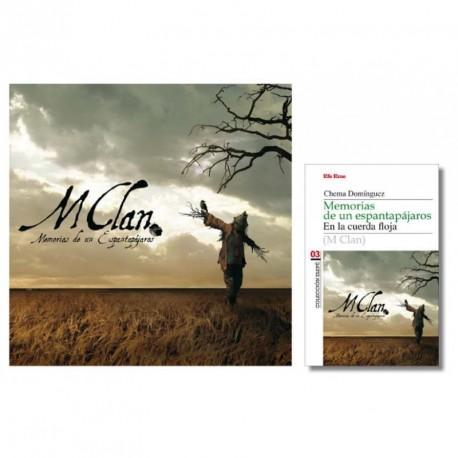 """PACK · M CLAN. """"Memorias de un espantapájaros"""" (LP Vinilo + Libro)"""