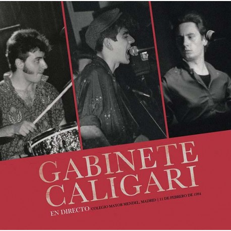 "Gabinete Caligari · ""En Madrid Directo 1984"" (Vinilo+CD)"