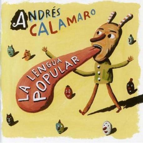 """Andrés Calamaro · """"La Lengua Popular"""" (Vinilo+CD)"""