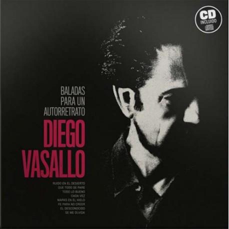 """Diego Vasallo · """"Baladas para un autorretrato"""" (Vinilo)"""