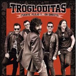 "Trogloditas · ""Fuerte, flojo... y en directo"" (Gatefold 2 vinilos + Libro + CD + DVD)"