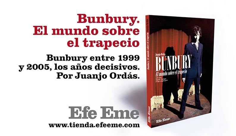 Bunbury el mundo sobre el trapecio